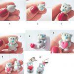 Фото 19: Мишки Тедди из полимерной глины