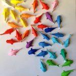 Рыбки в технике оригами