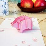 Фото 88: Объемная свинка из бумаги внутри