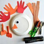 Фото 31: Изготовление поделок из цветной бумаги и бумажных тарелок