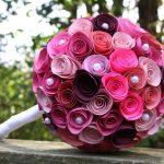 Фото 21: Букет из бумажных роз