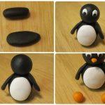 Фото 28: Пингвин из пластилина