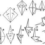 Схема сборки попугая
