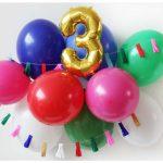 Фото 29: Простая композиция на день рождения из шариков