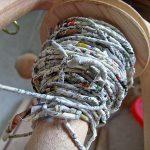 Фото 30: Хранение веревки из газет