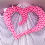 Фото 30: Сердце из шариков