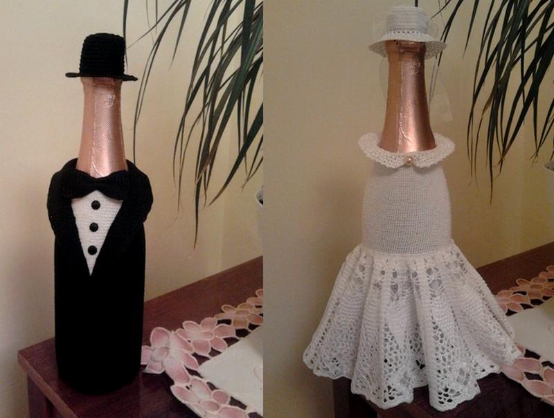 шампанское в шляпе