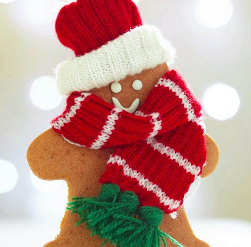 Шапочка и шарфик своими руками на Новый Год