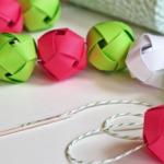 Фото 40: Цветные шарики из цветной бумаги