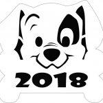 Фото 53: Вытынанка щенок 2018