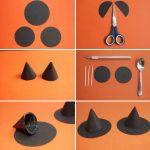 Фото 25: Изготовление шляпы ведьмы из бумаги