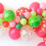 Фото 31: Сочетание разных шариков в гирлянде