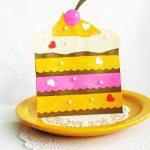 Фото 42: Тортик из цветной бумаги