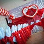 Фото 33: Украшение зала на свадьбу шарами