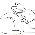 Фото 65: Вытынанка заяц