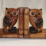 Фото 158: Деревянные совы книгодержатели