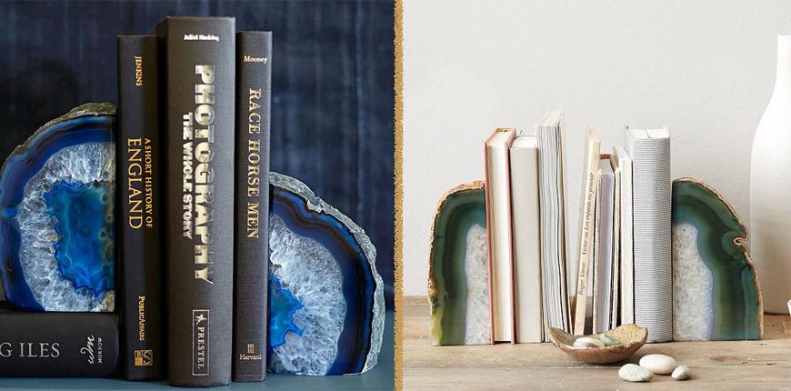 Подставки для книг из натурального камня