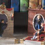 """Фото 80: Книгодержатель в виде портала по серии книг """"Гарри Поттер"""""""