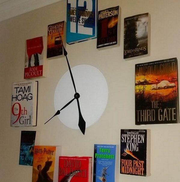 Часы можно сделать просто огромными