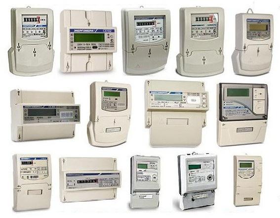 В магазинах представлен широкий выбор электросчетчиков
