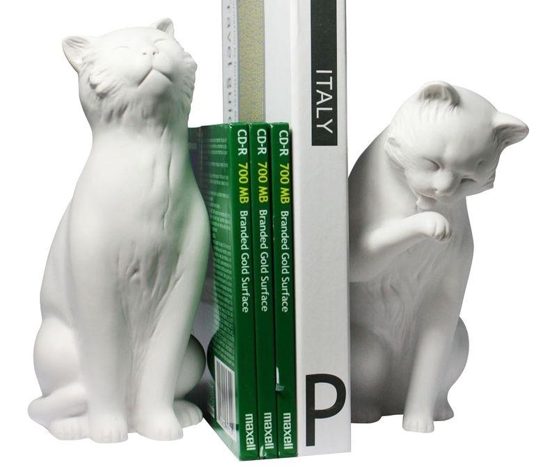 Книгодержатели в виде кошек