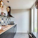 Фото 11: Фартук для кухни из плитки дизайн фото