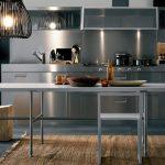 Фото 57: Металлический фартук для кухни