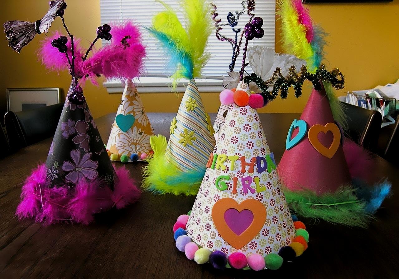Колпаки на день рождения