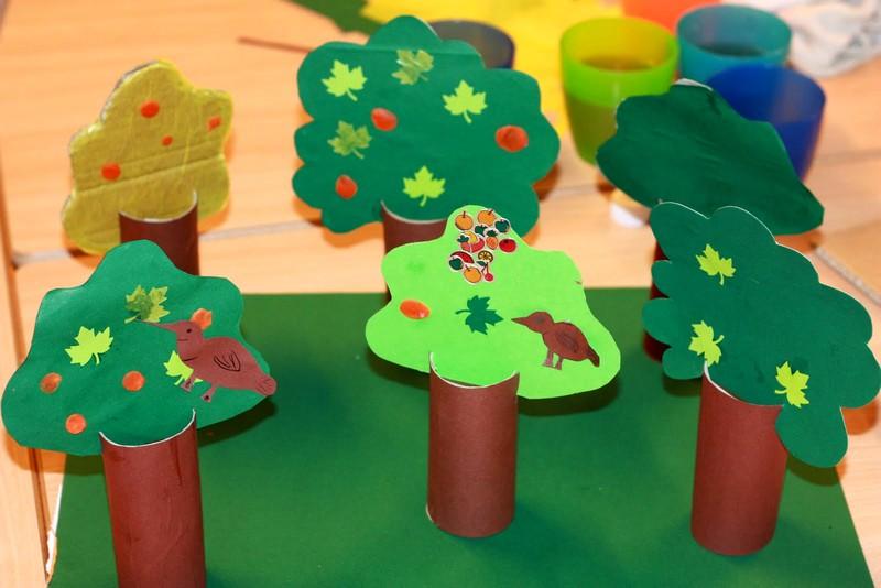 Поделки деревьев