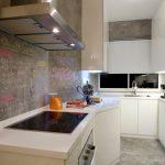 Фото 98: Панели настенные на кухне с возможностью рисования мелом