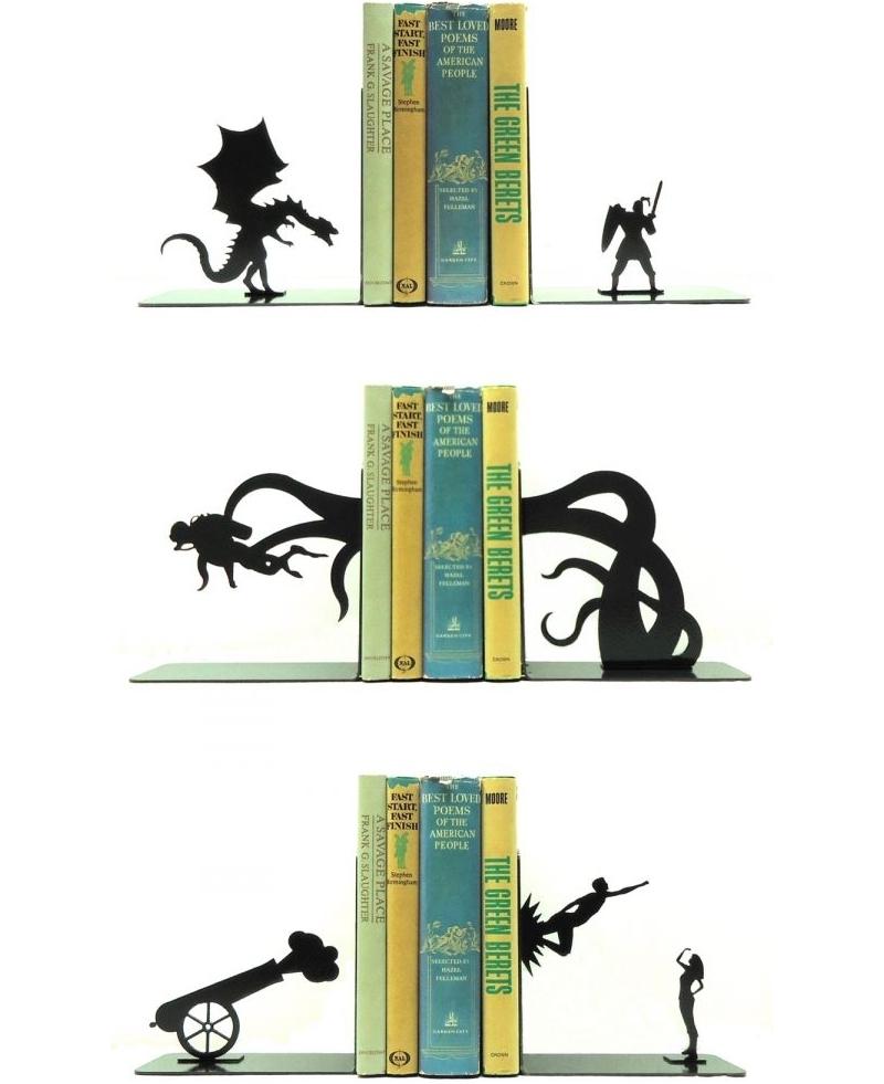 Книгодержатели с сюжетом