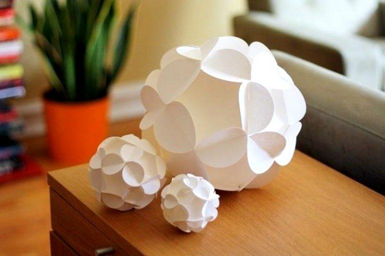 Поделки шар из бумаги своими руками