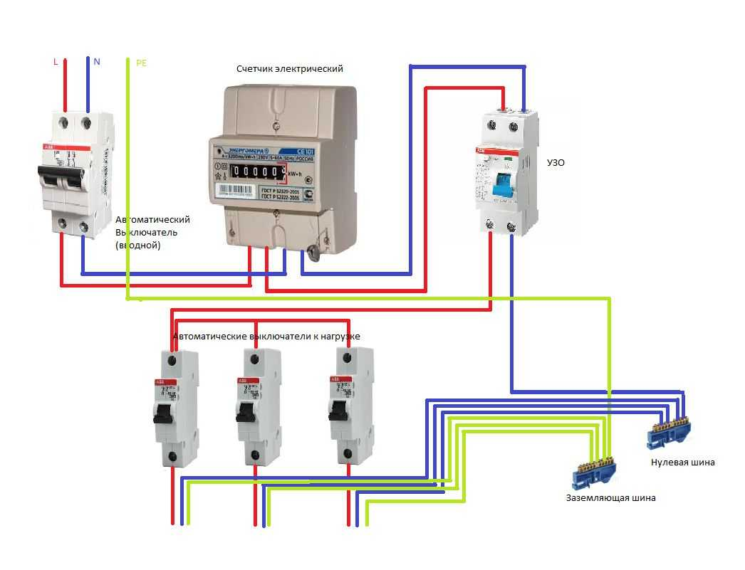 Схема подключения счетчика энергии 380в 73