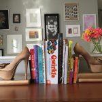 Фото 166: Книгодержатели из туфель