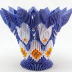 Фото 15: Ваза в технике модульного оригами