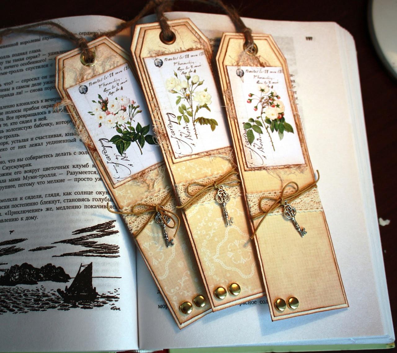 Закладки из карточек
