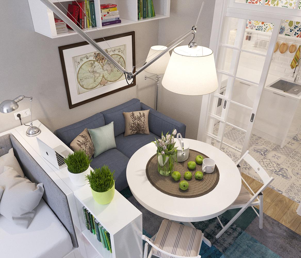 Фото дизайна квартир без мебели