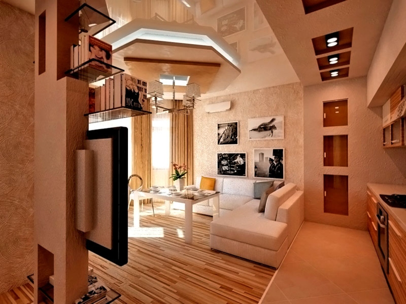 Отделка квартиры-студии