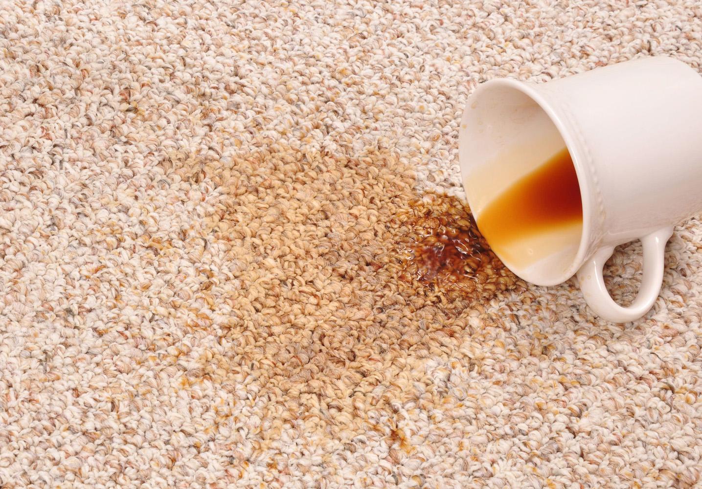Чем вывести пятна от кофе в домашних условиях