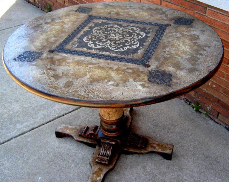 Деревянный стол реставрация своими руками 88