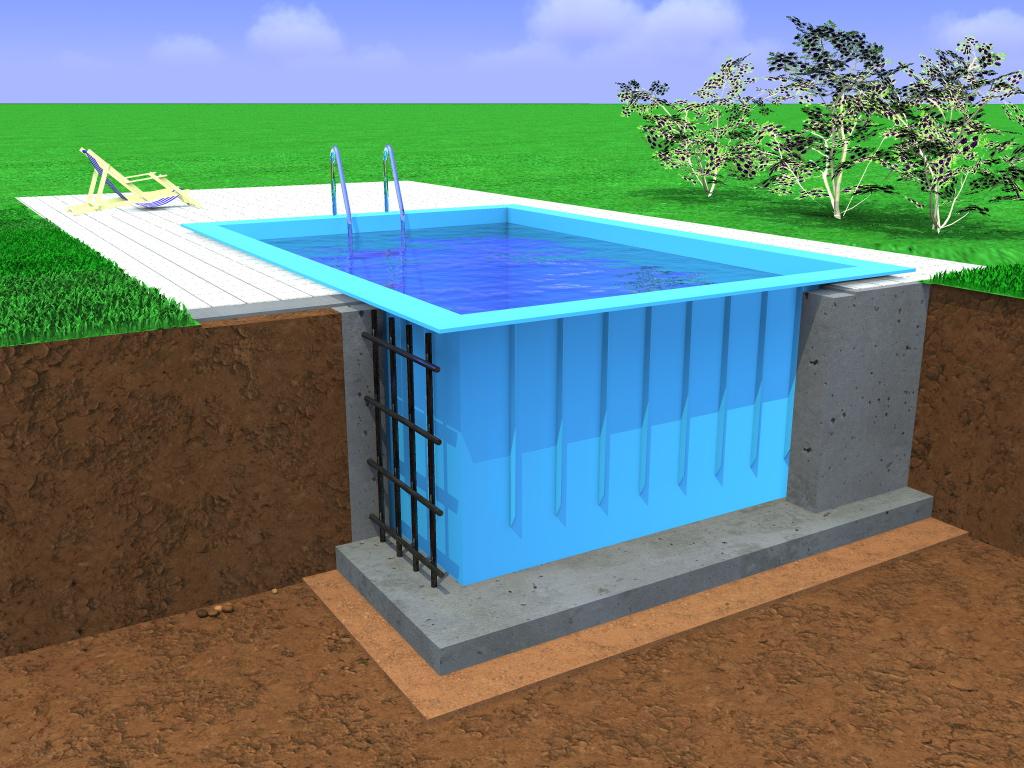 В последнее время пластиковый бассейн приобрел особую популярность