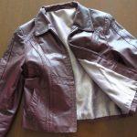 Фото 43: Светлый подклад для кожаной куртки