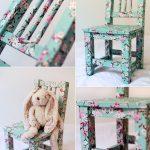 Фото 31: Декорирование стула в стиле прованс