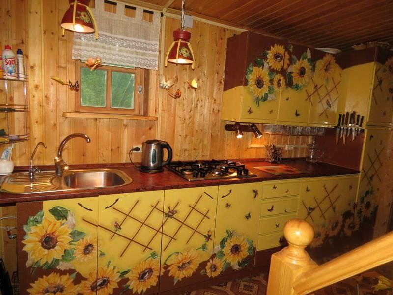 Декор кухонного гарнитура своими руками фото 75