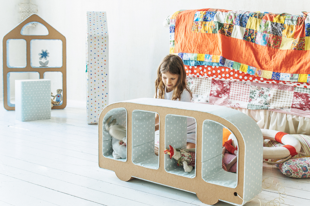 Детская мебель из картона