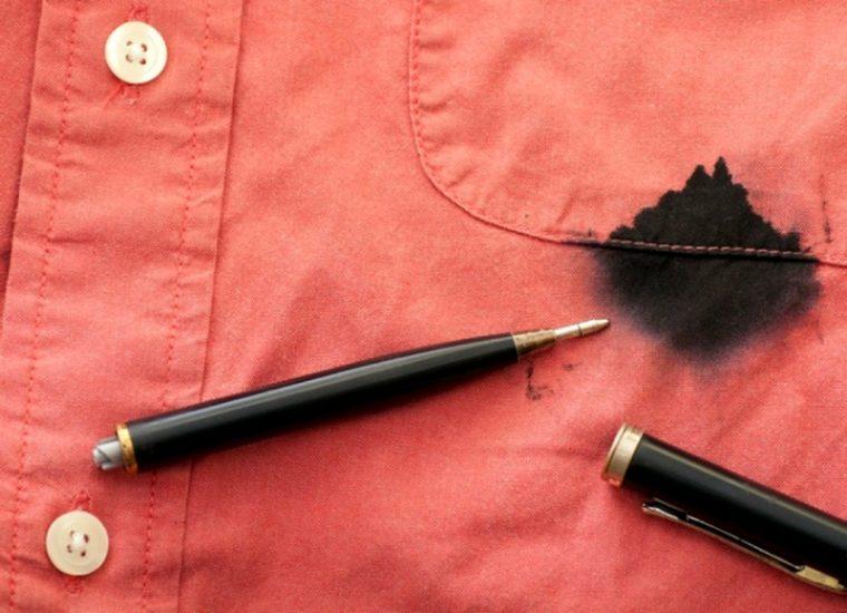 Вывести пятно от ручки с одежды фото