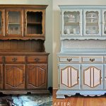 Реставрация шкафа для посуды