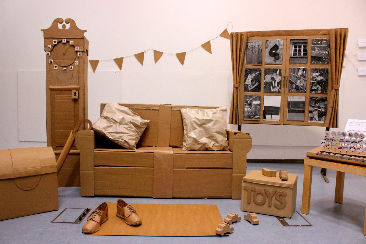Мебель из коробок своими руками для детей