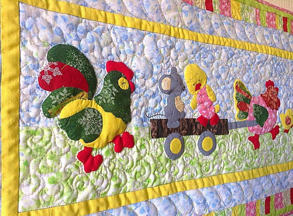 Настенный коврик для детской