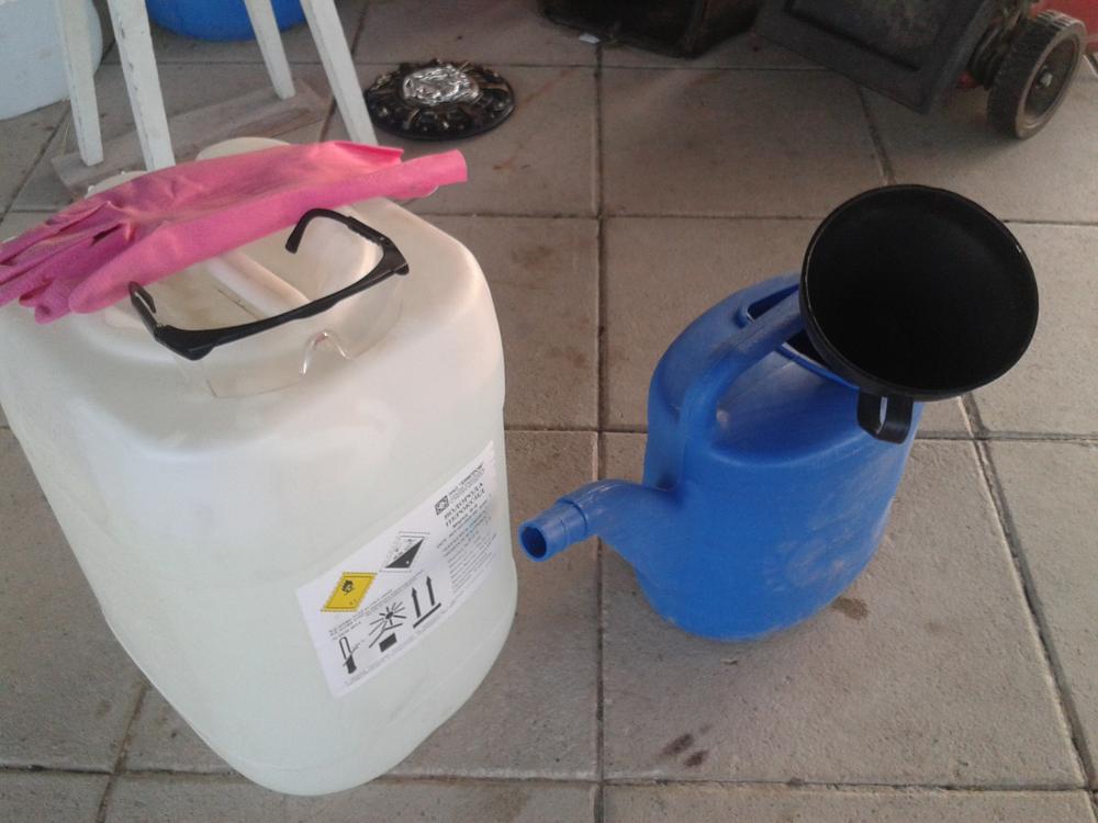 Очистка бассейна перекисью водорода